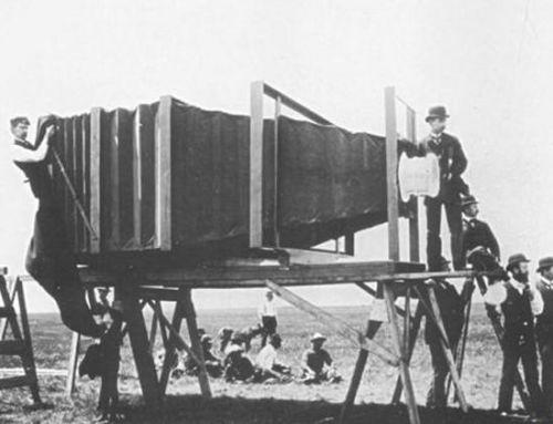 Dünya'daki ilk Fotoğraf Makinesi